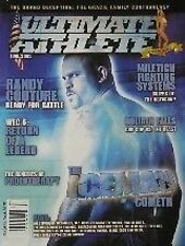 6/03 ULTIMATE ATHLETE MAGAZINE RANDY COUTURE KARATE KUNG FU MARTIAL ARTS UFC