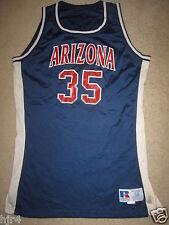 Arizona Wildcats #35 Mccanless Basketball Game Worn Used Jersey 50