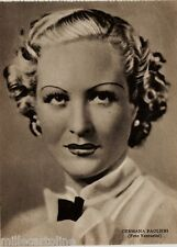 #CINEMA- ATTRICI: GERMANA PAOLIERI- foto Venturini-  ediz. Rizzoli 1941
