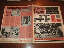 LO SPORT ILLUSTRATO GAZZETTA 1965/18 ITALIA GALLES 4-1 POSTER ROMA CALCIO @