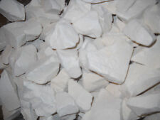 WHITE Clay chunks (lump) natural edible for eating (food), 1 lb (454 g)