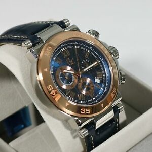 Guess Collection Men's Chronograph Blue Dial Watch X90015G7S