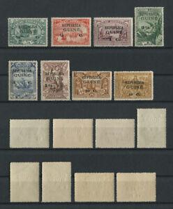 Portuguese Guinea Guine 1913 VASCO DA GAMA (over Macau) complete set MNH, FVF