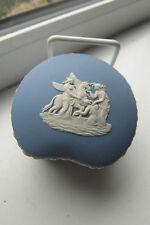 Wedgwood Winged Horse Trinket Dish Jasperware Blue White British