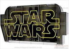 Star Wars ~ Display Case by Takara Tomy 80mm x 180mm x 65mm adjustable shelves