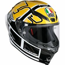 CASCO INTEGRAL AGV CORSA R SUPERIOR - ROSSI GOODWOOD TALLA M/S