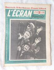 L'ECRAN FRANCAIS N° 239 en 1950 FRANK VILLARD SIMONE SIGNORET BERNARD BLIER