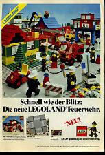 Lego--Legoland - Feuerwehr - Schnell wie der Blitz--Werbung von 1981--