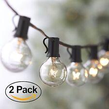 50FT Outdoor Lights Gazebo RV Patio Pergola String Exterior Hanging Lighting G40