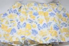 Shabby Cottage Chic Laura Ashley Confetti Twin Bed Skirt Matching Sham B12