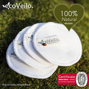 Reusable Make Up Remover Pads Bamboo Cotton Zero Waste Vegan Organic Washable