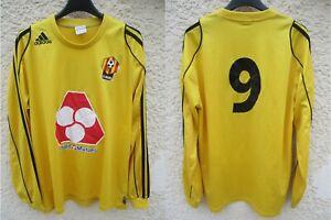 Maillot LE MANS MUC 72 porté n°9 ADIDAS vintage shirt manches longues rare M