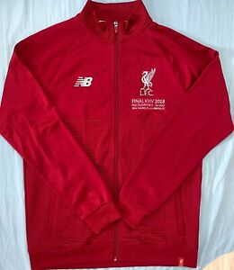 Rare Liverpool 2018 UEFA Champions League Final Match Worn Shirt Walkout Jacket