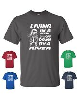 LIVING IN A VAN DOWN BY THE RIVER CHRIS FARLEY MATT FOLEY Tee Shirt