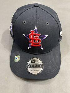 New St. Louis Cardinals All-Star Game 2021 Ball Cap Baseball Hat New Era 9FORTY