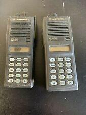 Motorola Mts 2000 Flashport Uhf Two Way Radio H01uch6pw1bn Lot Of 2