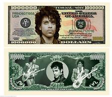 PRINCE BILLET COMMEMORATIF MILLION DOLLAR US! LOVE SYMBOL Funk Purple Rain Cloud