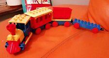 VINTAGE LEGO DUPLO TRAIN ENGINE CARRIAGE TRUCKS LOVELY CONDITION SET 1