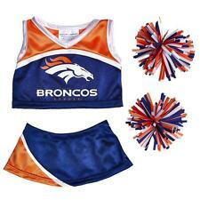 Build a Bear Clothing - New Denver Broncos Cheerleading Uniform 4 pc.