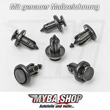 10x Stoßstangen Befestigungsclips Klips für Honda Acura | 91506-S9A-003