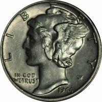 1944-P MERCURY DIME - CHOICE BU - NICE COLLECTOR COIN!- EE201TCS2