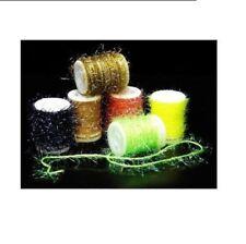 Material de montaje amarillo para moscas de pesca
