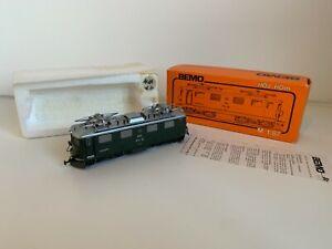 "BEMO 1250 HOm RhB Ge 4/4 609 ""Linard"" Green Swiss Electric Locomotive"