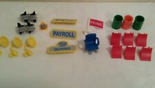 Lot of 20 Rokenbok Accessories Pieces - Signs, Barrels, Lights, Awning, etc.