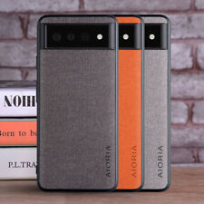 For Google Pixel 6 /6 Pro Weaving Textile Matte Ultra-Thin Protection Case Cover
