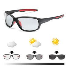 Sport Photochrome Polarized Glasses Bike Bicycle Fishing Cycling Sunglasses