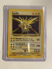 ZAPDOS - Legendary Set - 19/110 - HOLO Rare - Pokémon Card - Unlimited Ed - EX