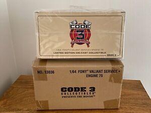 Code 3 - FDNY Engine 75 - Valiant Service Fire Engine
