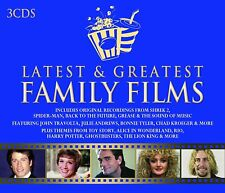 LATEST & GREATEST FAMILY FILMS: VARIOUS ARTISTS (3CD)