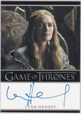 GAME OF THRONES SEASON 1 LENA HEADEY AS CERSEI LANNISTER AUTOGRAPH RARE BORDERED