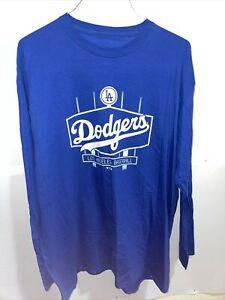 Los Angeles Dodgers Long Sleeve Fanatics shirt royal blue