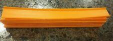 Mattel Hot Wheels 12 inch Straight  Orange Track lot  ~10 pcs.