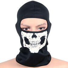 Skull Balaclava CS Hood Warm Winter Ski Motorcycle Full Face Mask Helmet Snood