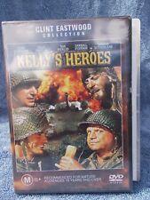 "KELLY""S HEROES CLINT EASTWOOD TELLY SEVALAS DVD M R4 SEALED"