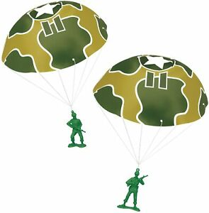 Toy Story 4 Disney Pixar Green Army Men with Parachutes - New Sealed NIB