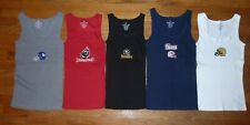 NFL Woman's Ribbed Stretch SEXY Tank Top Choose Color, Size & Team FOOTBALL