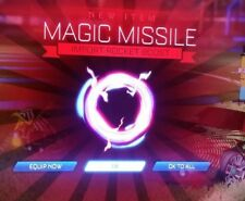 Magic Missile Import boost for Rocket league Item (Xbox One)