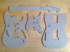 60s Strat templates for Guitar Building F.E. Fender Stratocaster Repair