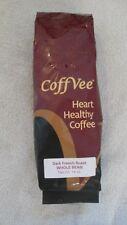 Coffvee Heart Healthy Coffee Dark French Roast Whole Bean 14 Oz