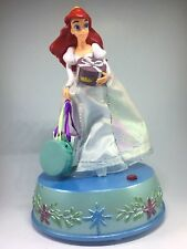 Gemmy Industries Disney's Little Mermaid Musical Figurine Music Box Rotating Vtg