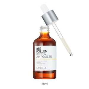 [MISSHA] Bee Pollen Renew Ampouler 40ml Whitening Moisturizing Anti-wrinkle
