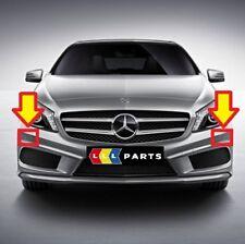 NUOVO Originale Mercedes MB A W176 AMG HEADLIGHT rondella tappo di copertura ideale COPPIA L + R