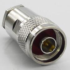 N Type Plug for Ultraflex 10, Hyperflex 10, Ecoflex 10 Male Connector