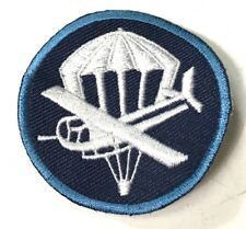WWII ENLISTED PARA/GLIDER PARATROOPER AIRBORNE PX GARRISON CAP PATCH-V3