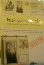 STAMPS AWAY Desk Calendar Kit *Ali Reeve Create/Craft (ready to assemble)