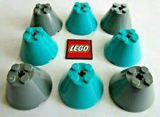 LEGO Cone Bricks 4x4x2 with Axle Hole ( (Packs of 2) Design 3943